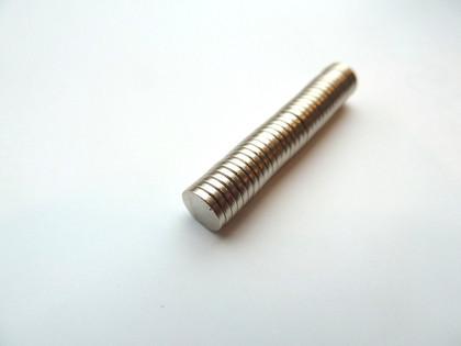 Neodymium Rare Earth Magnets - Round 6x1mm