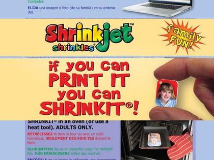 Shrinkles Shrinkjet - Print Your Own Plastic!