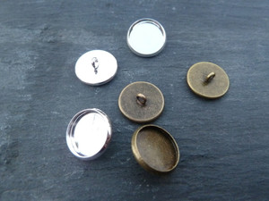 Button Blanks / Lids 12mm