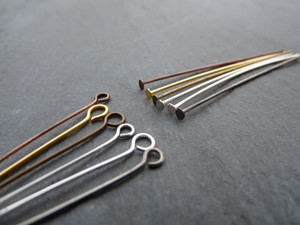 Headpins 35mm - Many Colours to Choose From!