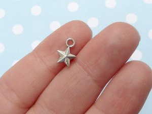 Teeny Star Charms