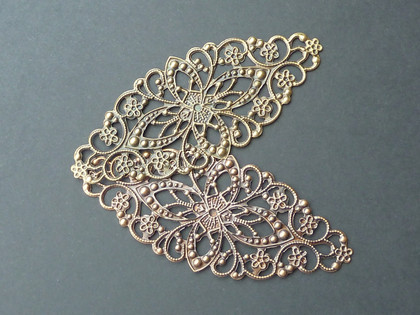 Ornate Oval filigree