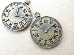 Round Clock Pendant Trays 27mm