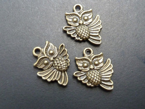 Baby Owl Charms