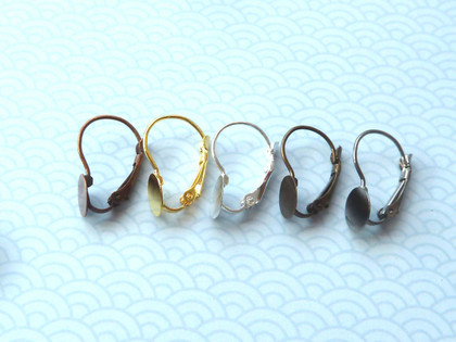 Springback Earrings with 8mm Pad