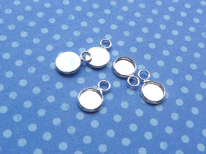 Teeny Round Charm Blanks - 6mm