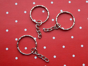 Keyrings with chain