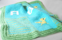 Chickie ABC Baby Blanket