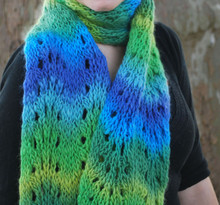 Feather and Fan Scarf