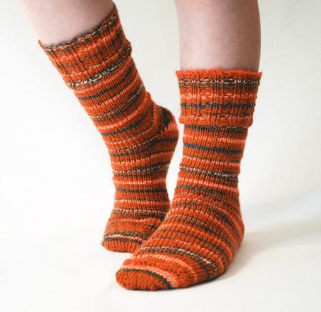 Ribbed Cuff Socks Http Www Knittingboard Com