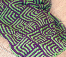 Simple Mitered Square Blanket