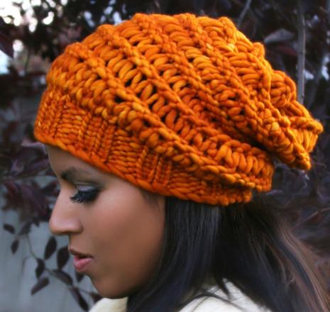 Autumn Slouchy Hat - http   www.knittingboard.com  9eaf85927ba