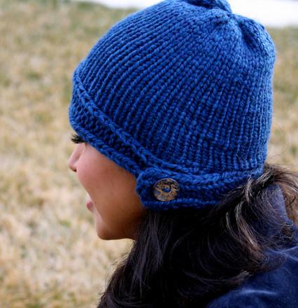 Free Loom Knit Pattern Cloche