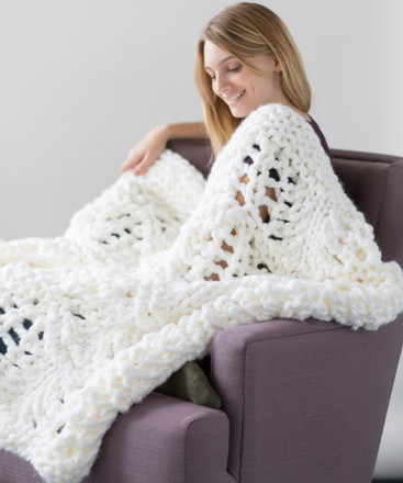 White Pines Blanket - Zippy Loom