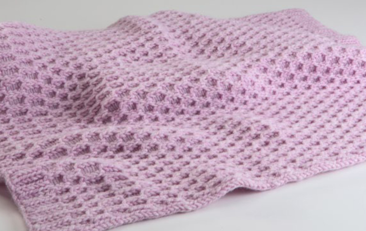 Rose Baby Blanket Http Www Knittingboard Com