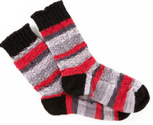 Cheery Checker Socks