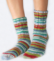Ladder Rib Socks