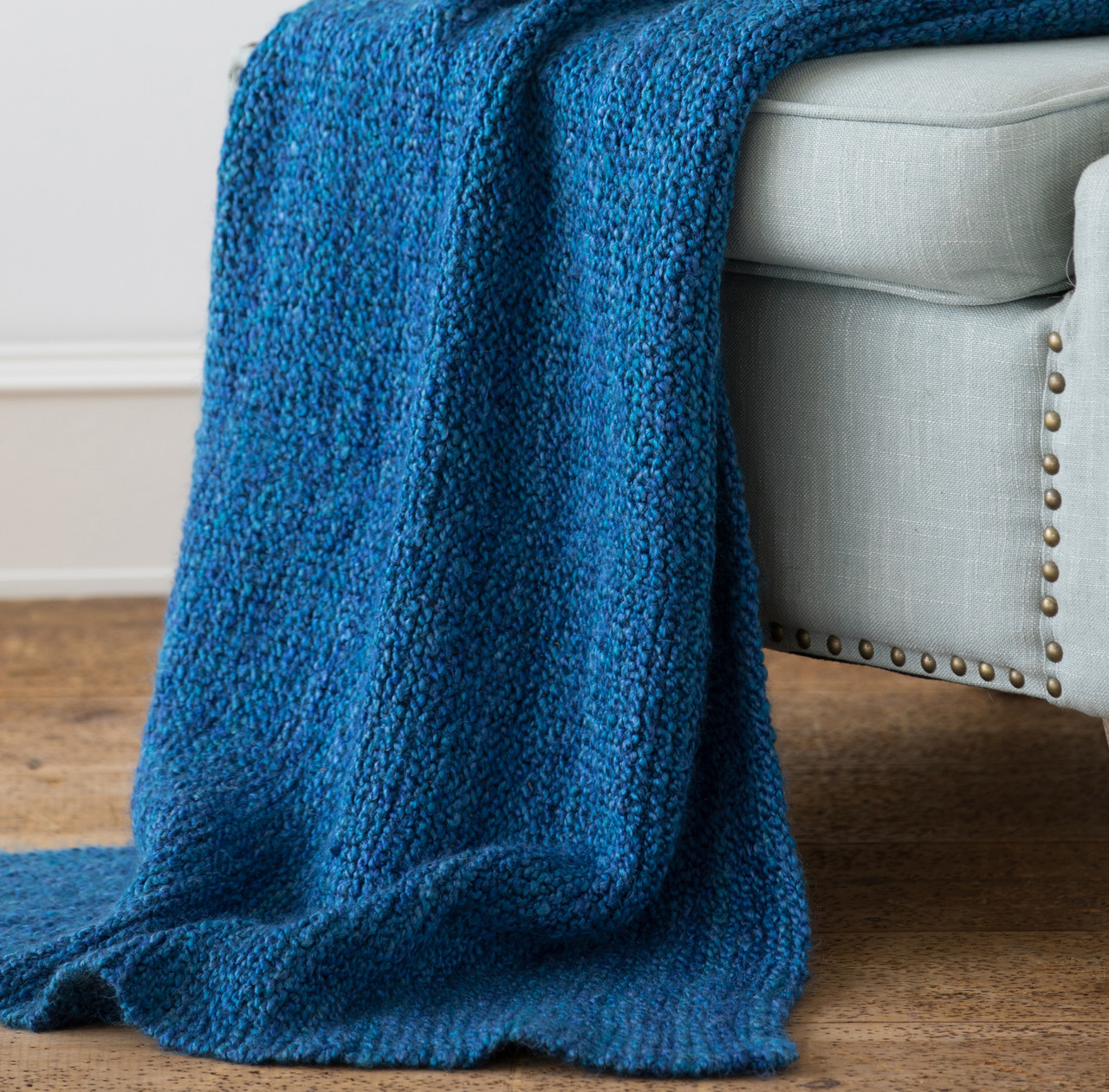 Easy Knit Blanket Http Www Knittingboard Com