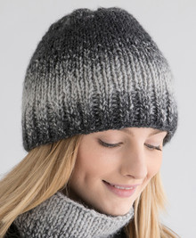 Double Knit Hat with Brim