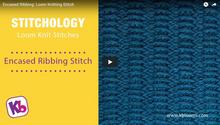 Encased Ribbing Stitch