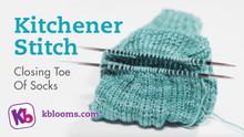 Removing Stitches and Kitchener Toe Closure