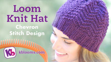Complete Hat Pattern- Chevron Design