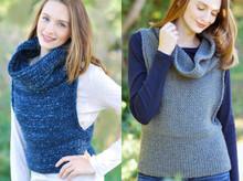 Quick Knit Cowl Vest