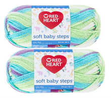 Red Heart Soft Baby Steps (2 pack) Color: Tickle