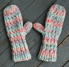 Thick & Quick Cable Mittens