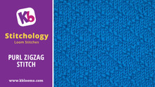 Purl Zigzag Stitch