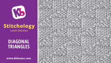 Diagonal Triangles Stitch