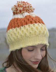 Autumn Candy Corn Hat