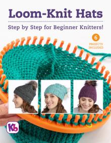 Loom-Knit Hats Pattern Book