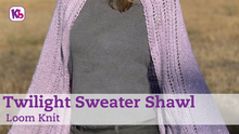 Twilight Sweater Shawl