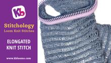 Elongated Knit Stitch
