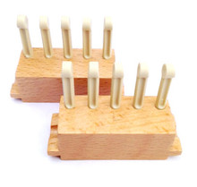 "5 Peg Sliders (3/8"" gauge) for the All-n-One Loom and 10"" Loom Add-On"