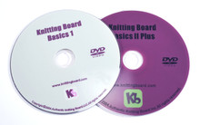 Knitting Board Basics DVDs (set of 2)