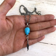 Castle Dome Turquoise Necklace