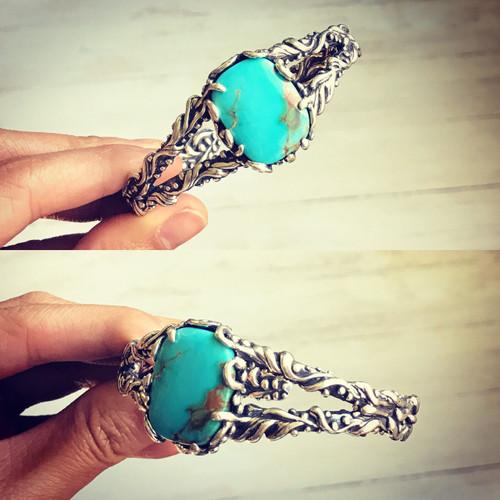 Turquoise Mountain Turquoise Bracelet
