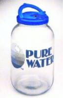 Pure Water Mini Classic Water Glass Jar or Steam Pure Water Distiller Glass Jar