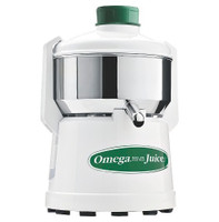 Omega J1000 Continuous Pulp-Ejection Centrifugal Juicer, Stainless Steel