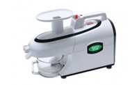 Green Star Elite Twin Gear Juicer Model 5300 includes a Pasta Making Kit