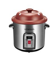 VitaClay Organic Clay Stock Pot & Multi-Crock 6 Quart