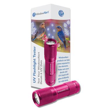 Window Alert UV Flashlight Tester