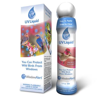 WindowAlert UV Liquid 1.0 ounce Bottle