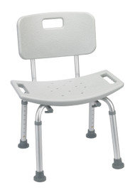 Bathroom Safety Shower Tub Chair - Grey