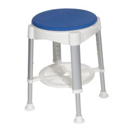 Bath Stool with Padded Rotating Seat By Drive