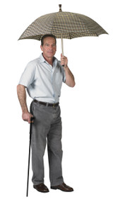 Umbrella Cane with T Handle