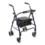 Mimi Lite Push Brake Walker Rollator By Drive