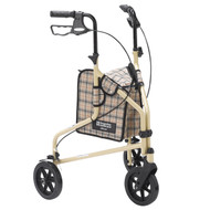 Winnie Lite Supreme 3 Wheel Walker Rollator By Drive